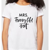 Mrs. Freezing Cold Feet Women's T-Shirt - White - 3XL - White