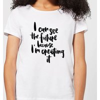 I Can See The Future Women's T-Shirt - White - XL - White
