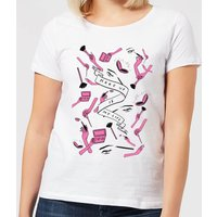 Makeup Is My Life Women's T-Shirt - White - XXL - White - Makeup Gifts