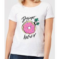 Dessert Island Women's T-Shirt - White - M - White