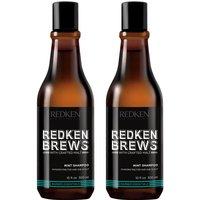 Redken Brews Men's Mint Shampoo Duo