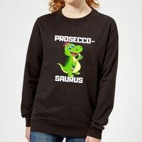 Be My Pretty Proseco-Saurus Women's Sweatshirt - Black - XL - Black