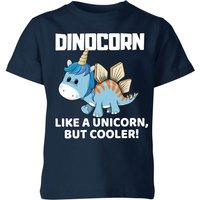 Big and Beautiful Dinocorn Kids' T-Shirt - Navy - 9-10 Years - Navy