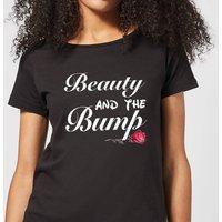 Big and Beautiful Beauty and The Bump Women's T-Shirt - Black - L - Black