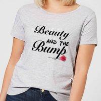 Big and Beautiful Beauty and The Bump Women's T-Shirt - Grey - 3XL - Grey