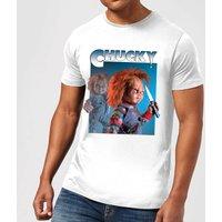 Chucky Nasty 90s Mens T-Shirt - White - L - White