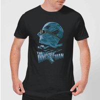Universal Monsters The Invisible Man Illustrated Men's T-Shirt - Black - L