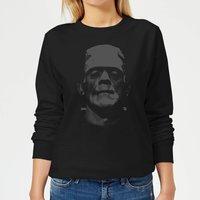 Universal Monsters Frankenstein Black and White Women's Sweatshirt - Black - XXL - Black