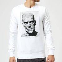 Universal Monsters The Mummy Portrait Sweatshirt - White - XL - White
