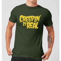 Creepin It Real Men's T-Shirt - Forest Green - M - Forest Green