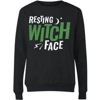 Resting Witch Face Women's Sweatshirt - Black - XL - Black
