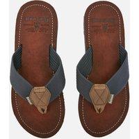 Barbour Men's Toeman Beach Toe Post Sandals - Navy - UK 7