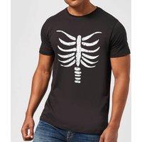 Skeleton Mens T-Shirt - Black - XXL - Black
