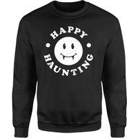 Happy Haunting Sweatshirt - Black - L - Black