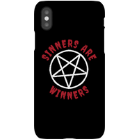 Sinners Are Winners Phone Case for iPhone and Android - iPhone 8 - Tough Case - Gloss