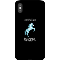 Unicorn Skeleton Phone Case for iPhone and Android - iPhone X - Snap Case - Gloss