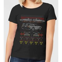 Back To The Future Back In Time for Christmas Women's T-Shirt - Black - 4XL - Black