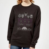 Universal Monsters I Prefer Halloween Women's Sweatshirt - Black - M - Black