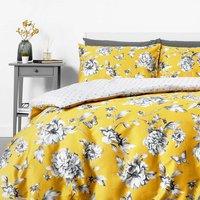 in homeware Sophie Floral Duvet Set - Yellow - King