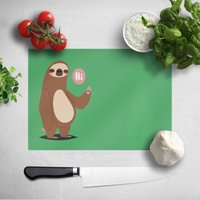 Sloth Hi Chopping Board