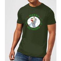 Star Wars Merry Hothmas Men's Christmas T-Shirt - Forest Green - XXL - Forest Green