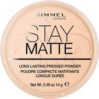 Rimmel Stay Matte Pressed Powder (Various Shades) - Warm Beige