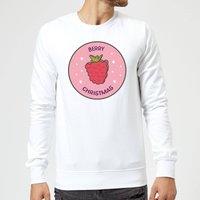 Berry Christmas Christmas Sweatshirt - White - XXL - White