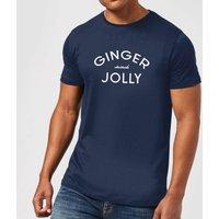 Ginger and Jolly Men's Christmas T-Shirt - Navy - XL - Navy