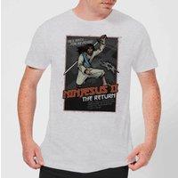 Ninjesus 2: The Return Men's Christmas T-Shirt - Grey - 3XL - Grey