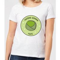 Haters Gonna Hate Women's Christmas T-Shirt - White - S - White