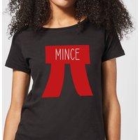 Mince Pi Women's Christmas T-Shirt - Black - XL - Black