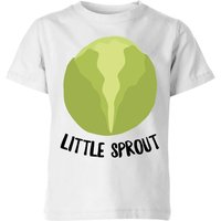 Little Sprout Kids' Christmas T-Shirt - White - 9-10 Years - White