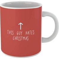 This Guy Hates Christmas Mug