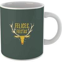 Felices Fiestas Reindeer Mug