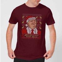 Make Christmas Great Again Men's Christmas T-Shirt - Burgundy - M - Burgundy