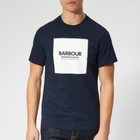 Barbour International Men's Block T-Shirt - Navy - XXL - Blue