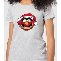 The Muppets Animal Women's Christmas T-Shirt - Grey - 5XL