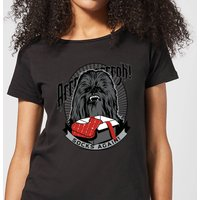Star Wars Chewbacca Arrrrgh Socks Again Women's Christmas T-Shirt - Black - XL - Black