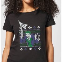 DC Joker Women's Christmas T-Shirt - Black - L - Black