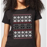 Star Wars Imperial Darth Vader Women's Christmas T-Shirt - Black - XXL - Black