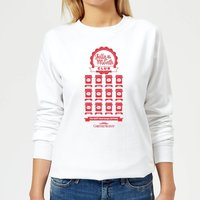 National Lampoon Jelly Of The Month Club Women's Christmas Sweatshirt - White - M - White