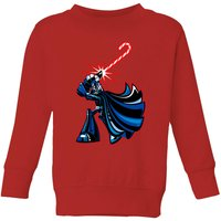 Star Wars Candy Cane Darth Vader Kids' Christmas Sweatshirt - Red - 3-4 Years