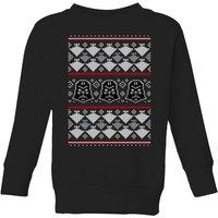 Star Wars Imperial Darth Vader Kids' Christmas Sweatshirt - Black - 9-10 Years - Black