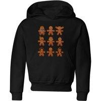 Star Wars Gingerbread Characters Kids' Christmas Hoodie - Black - 5-6 Years