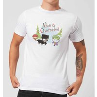 DC Nice Is Overrated Men's Christmas T-Shirt - White - L - White