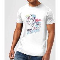 DC To The Slopes! Mens Christmas T-Shirt - White - M - White