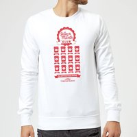 National Lampoon Jelly Of The Month Club Christmas Sweatshirt - White - XL - White