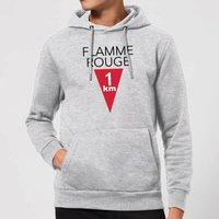 Summit Finish Flamme Rouge Hoodie - Grey - L - Grey