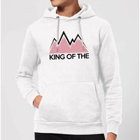 Summit Finish King Of The Mountains Hoodie - White - L - White