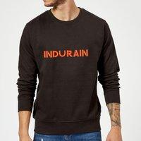 Summit Finish Indurain - Rider Name Sweatshirt - Black - L - Black